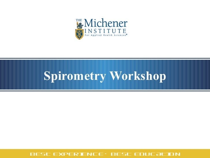 Spirometry Workshop