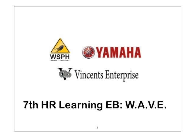 1 7th HR Learning EB: W.A.V.E.