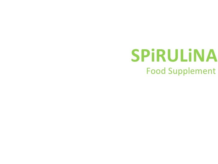 SPiRULiNA Food Supplement