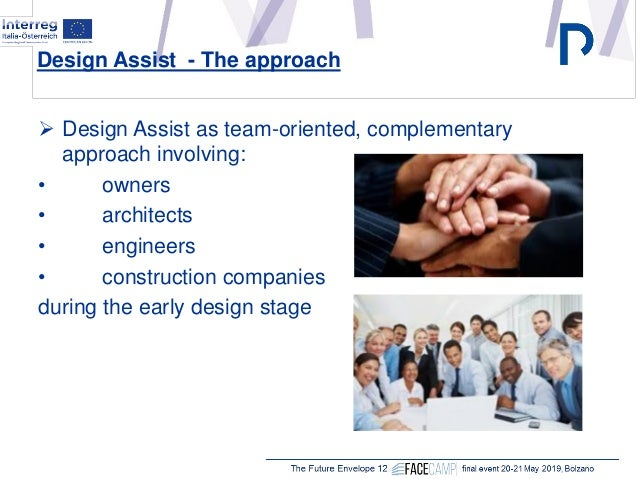 """Harald Spitaler, Stahlbau Pichler, Bolzano (IT) """"The design assist approach for the engineering of complex façades: general concepts and case studies"""" Slide 3"""