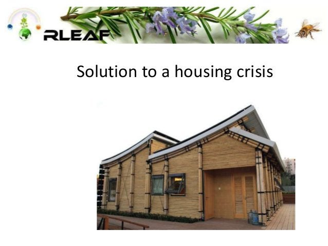 Solution to a housing crisis