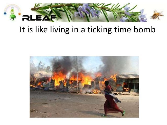 It is like living in a ticking time bomb