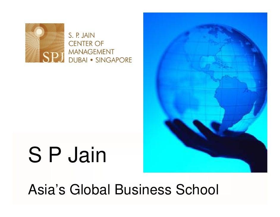 S P Jain Asia's Global Business School