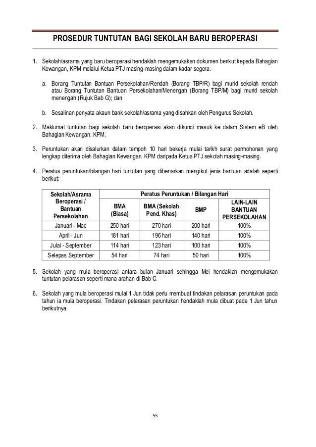 Spk Bil 8 2012 Garis Panduan Pengurusan Kewangan Peruntukan Bantuan