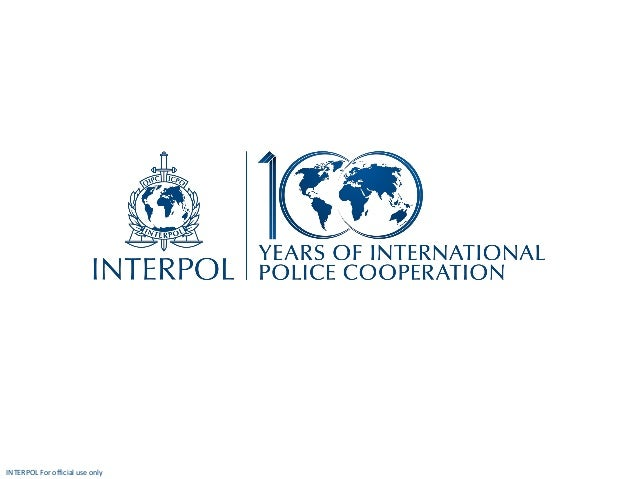 INTERPOL For official use only