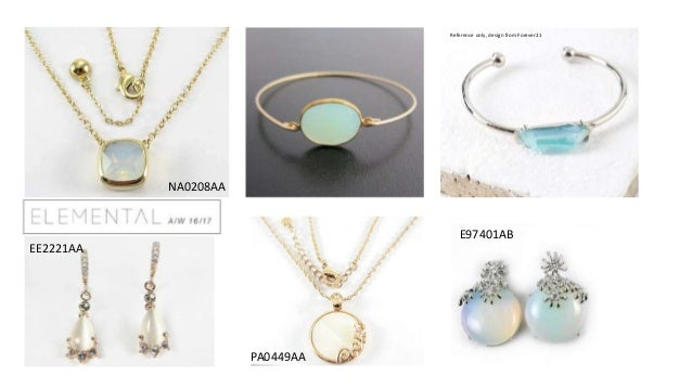 Fashion Jewellery Trends 20162017 and Jewelry buying habits from Ita