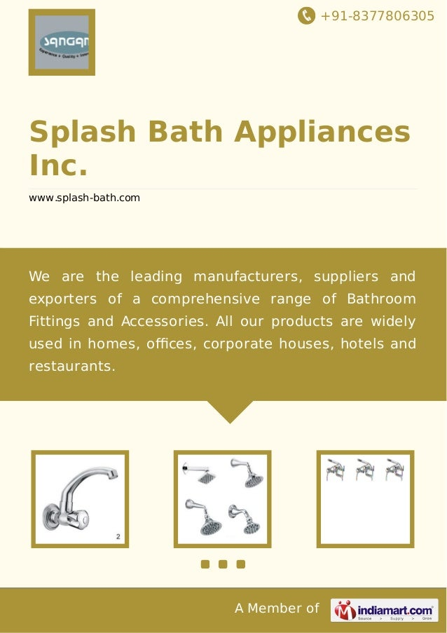 splash bath appliances inc jamnagar kitchen tap
