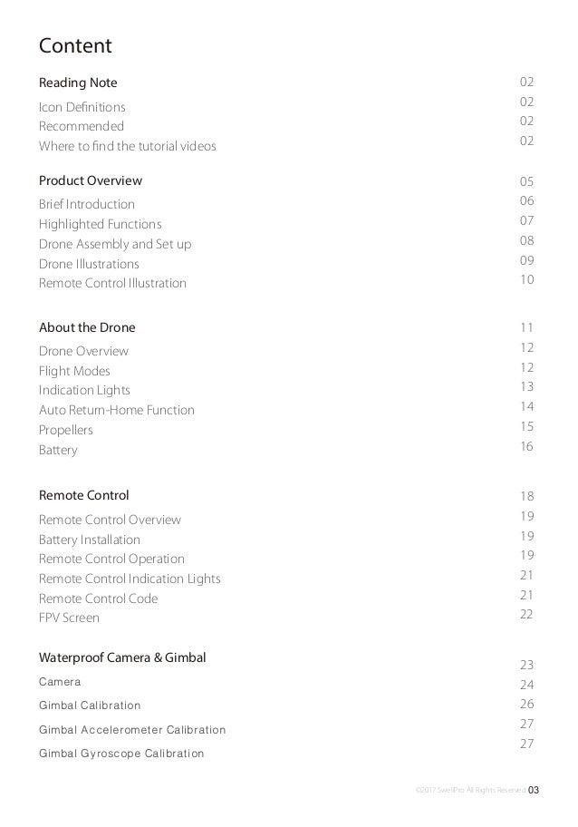 Splash drone 3 user manual v1.0 en