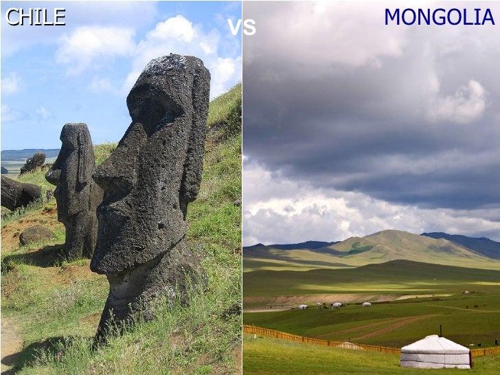 CHILE   VS   MONGOLIA