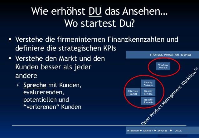 Wie erhöhst DU das Ansehen… Wo startest Du?  Verstehe die firmeninternen Finanzkennzahlen und definiere die strategischen...