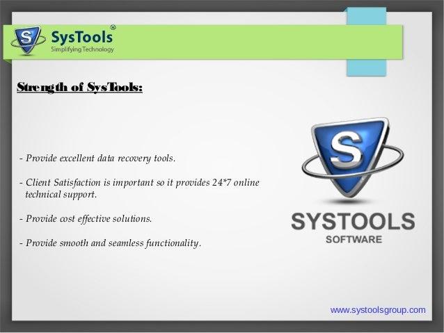SysTools Split PST