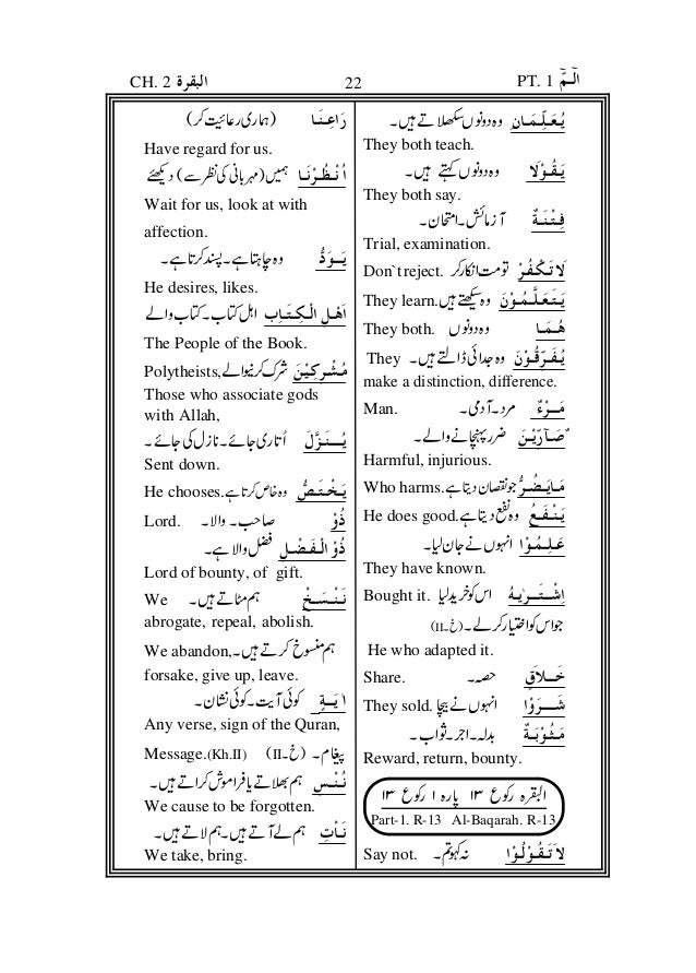 You can see meaning in urdu