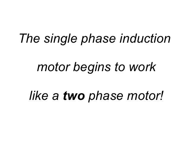 Understanding Split-phase Induction Motors