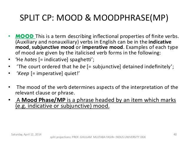 AUE: FAQ excerpt: Subjunctive