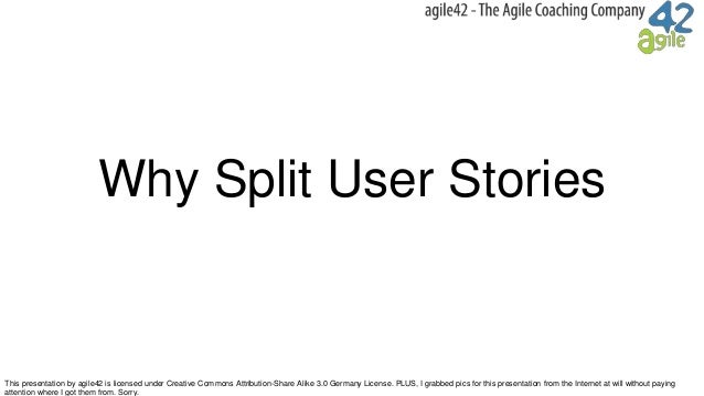 This presentation by agile42 is licensed under Creative Commons Attribution-Share Alike 3.0 Germany License. PLUS, I grabb...