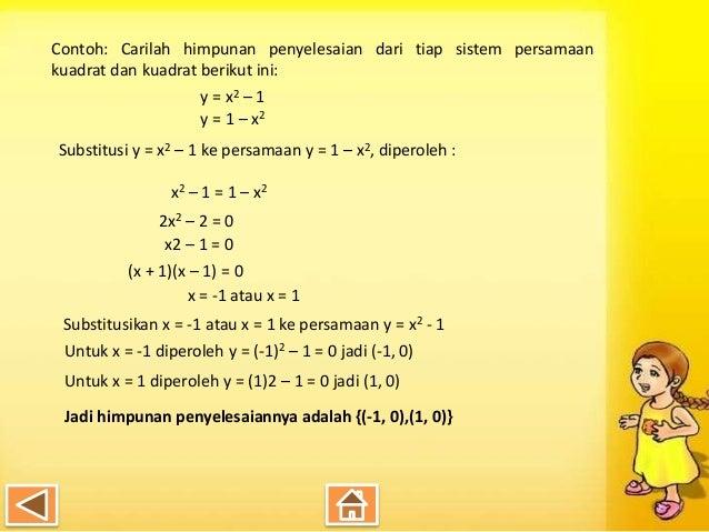 Contoh Soal Persamaan Linear Dua Variabel Dan ...