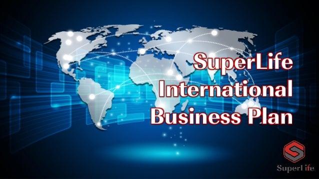 SuperLife International Business Plan