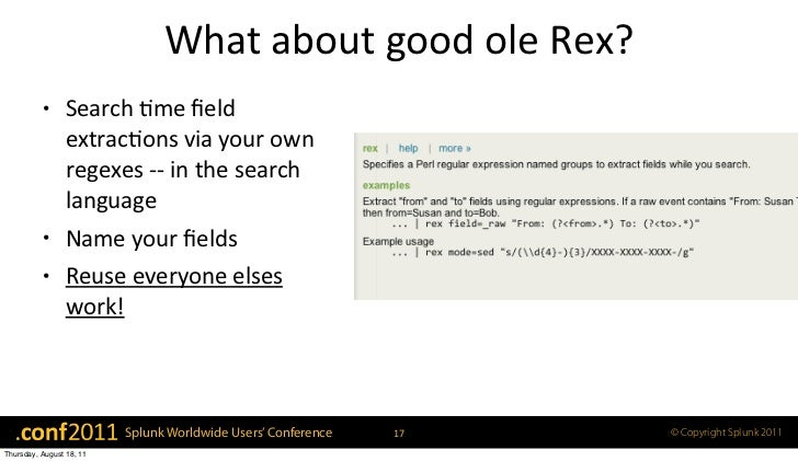 Field Extractions: Making Regex Your Buddy