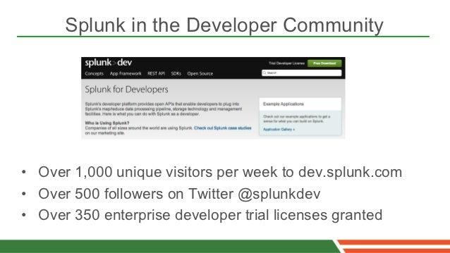 Splunk as a_big_data_platform_for_developers_spring_one2gx
