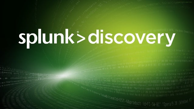 Splunk Discovery Indianapolis - October 10, 2017