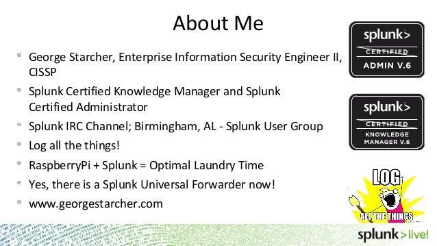 SplunkLive! Customer Presentation - University of Alabama at Birmingh…