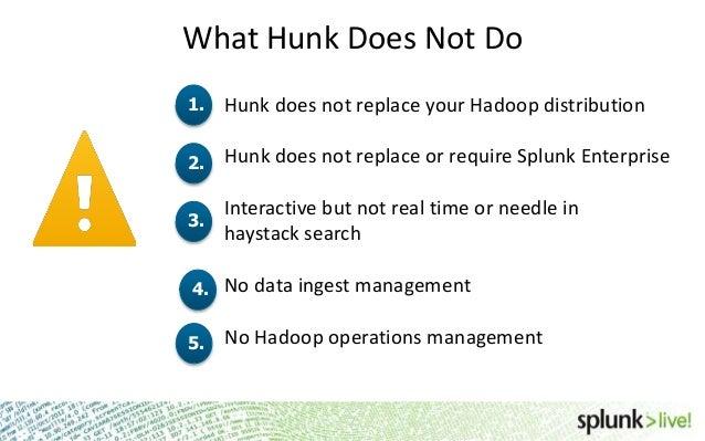 SplunkLive! Hunk Technical Overview