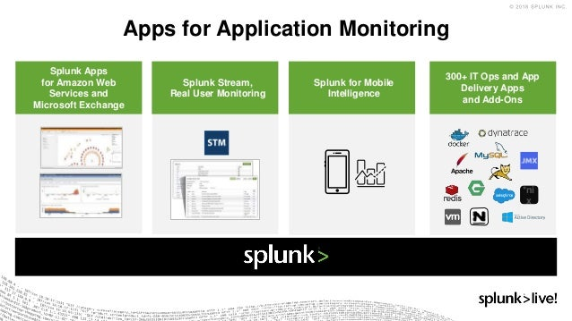 SplunkLive! Munich 2018: Monitoring the End-User Experience with Splu…