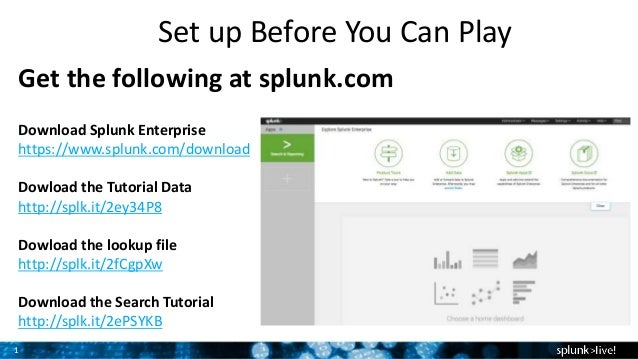 Getting Started with Splunk Enterprise