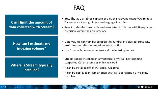 Splunk Stream - Einblicke in Netzwerk Traffic