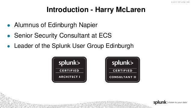 Supporting Splunk at Scale, Splunking at Home & Introduction to Enterprise Security  Slide 2