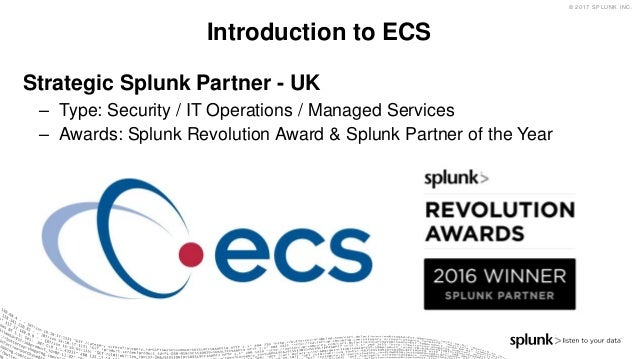Supporting Splunk at Scale, Splunking at Home & Introduction to Enterprise Security  Slide 3