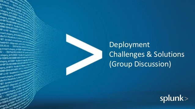 Deployment Challenges & Solutions (Group Discussion)