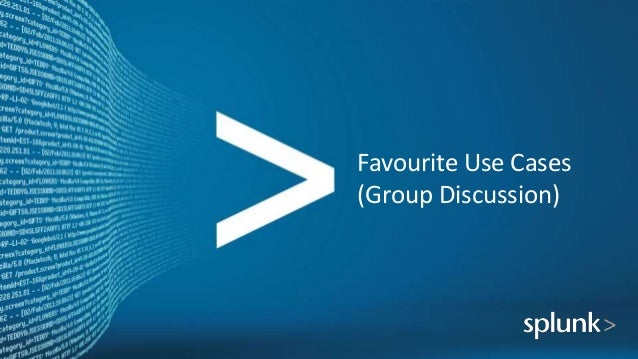 Favourite Use Cases (Group Discussion)