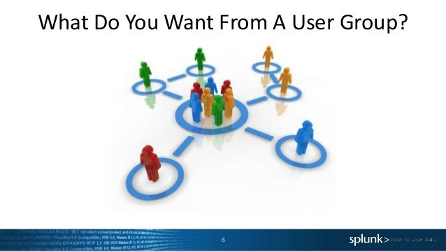 What Do You Want From A User Group? 6