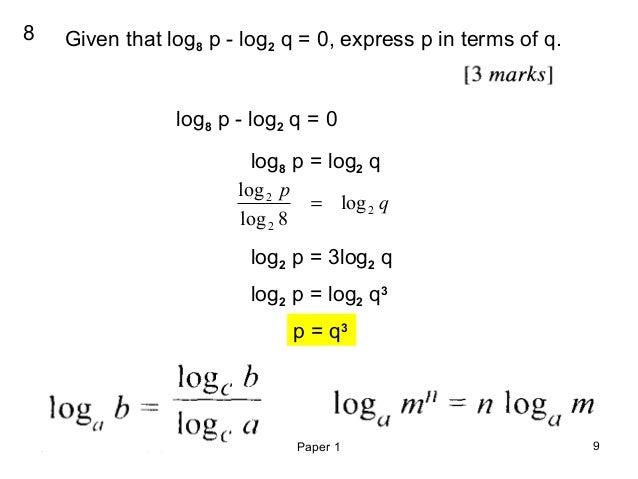 Spm add math 2009 paper 1extra...