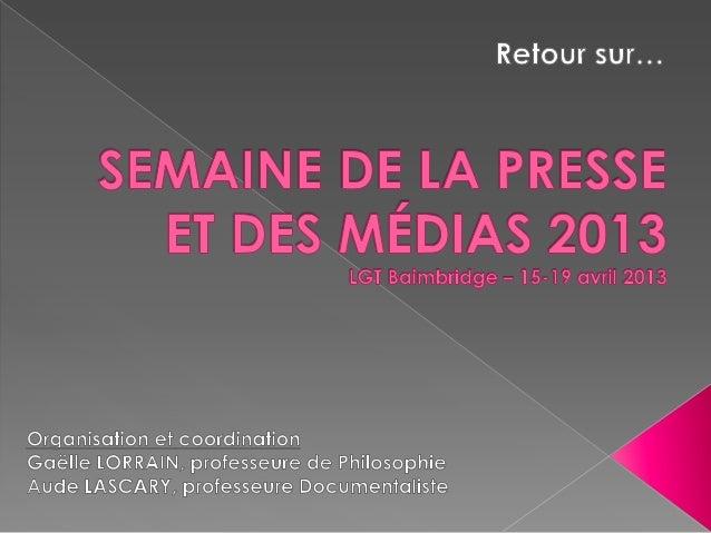  Faire vivre un hebdomadaire - Rencontre avec Jacques DANCALE etFrédéric DEGLAS respectivement rédacteur en chef etdessin...