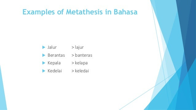 metathesis synonyms