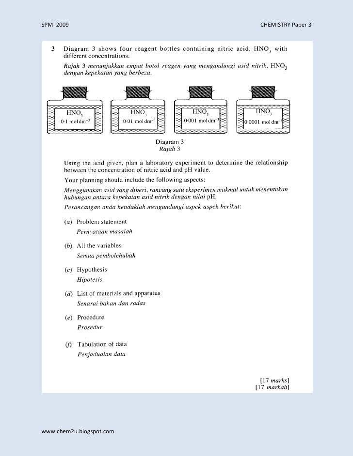 essay report spm 2009