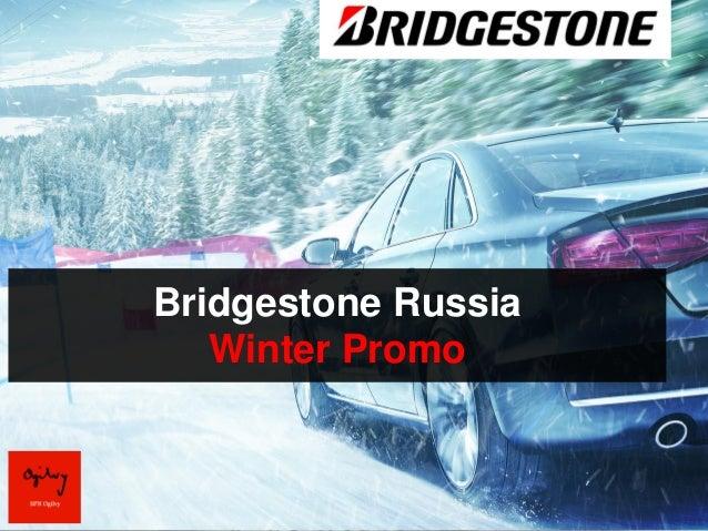 Bridgestone Russia   Winter Promo