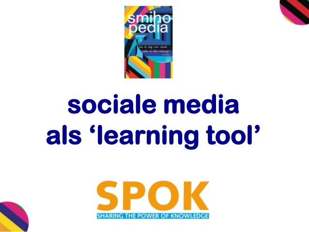 sociale media als 'learning tool'