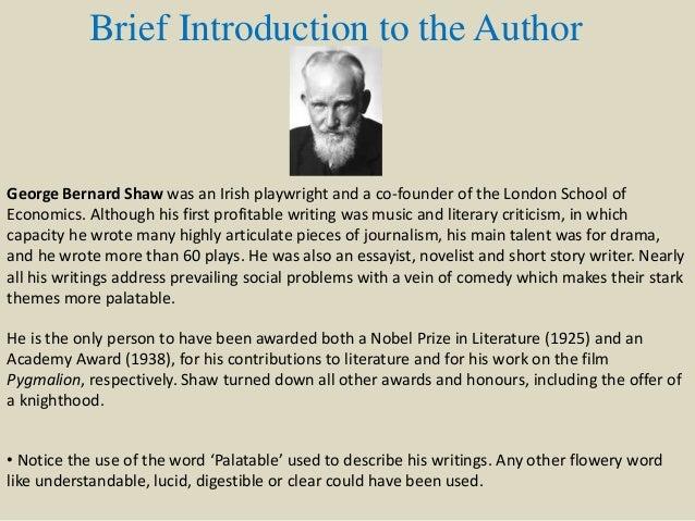 Spoken english and broken english george bernard shaw essay