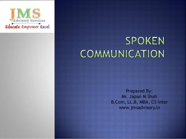 Prepared By: Mr. Japan M Shah B.Com, LL.B, MBA, CS Inter www.jmsadvisory.in