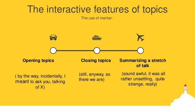 how to analyse spoken language