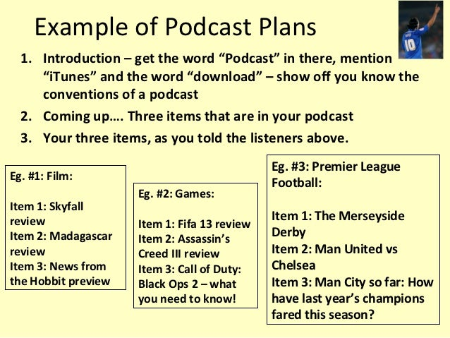 podcast template script - spoken language part 2 writing a podcast