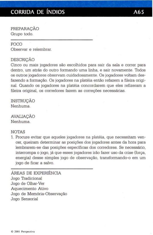Jogos Teatrais - O fichário de Viola Spolin