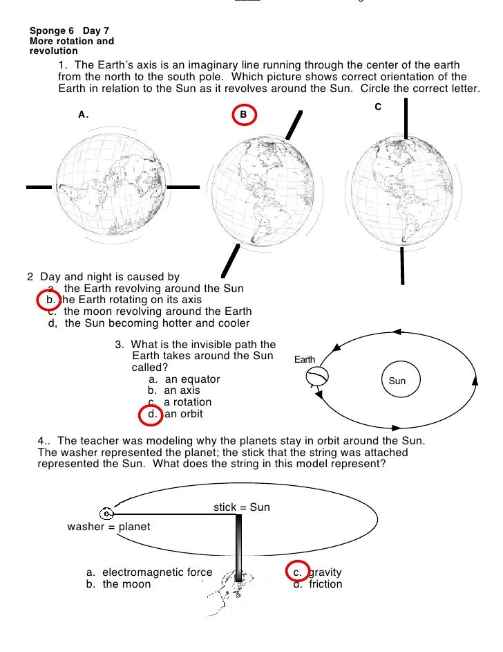 Order of Planets Worksheet answers – Sun Worksheet