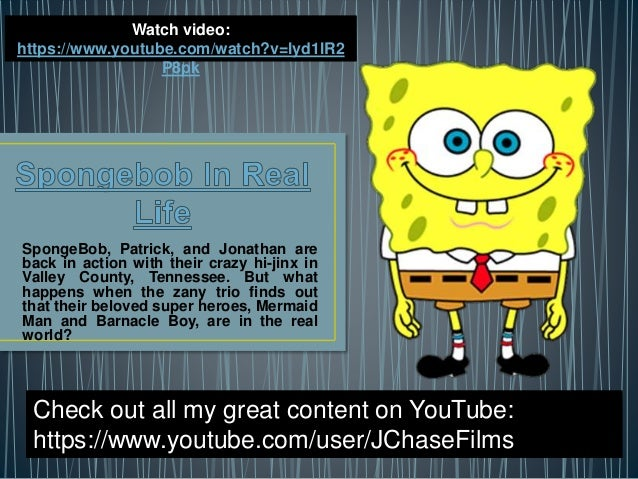SpongeBob, Patrick, and Jonathan are back in action with their crazy hi-jinx in Valley County, Tennessee. But what happens...