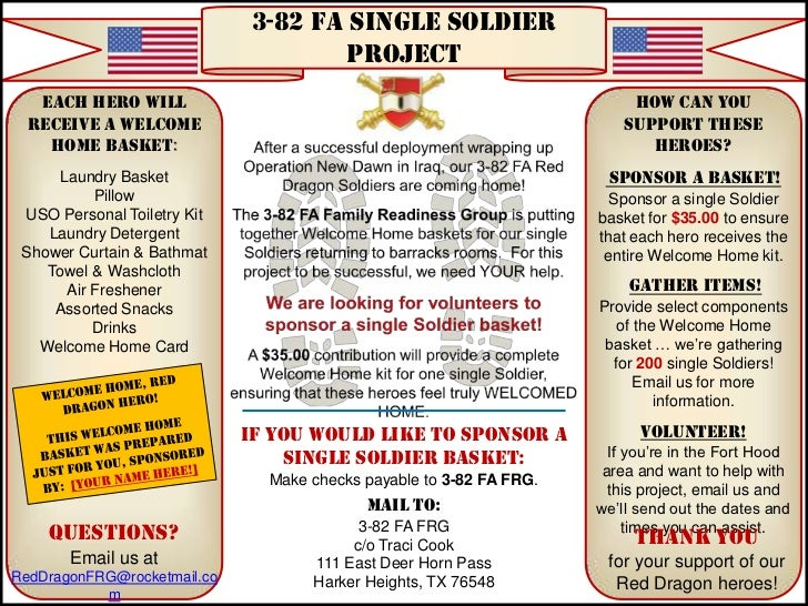 3-82 FA Single Soldier                                     Project   Each Hero will                                       ...