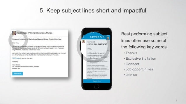 Sponsored InMail: Best Practices & Gallery of Examples