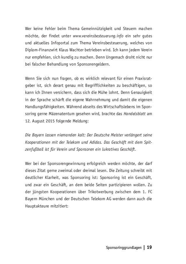 Schön Vorlage Für Sponsoring Vorschlag Fotos - Dokumentationsvorlage ...
